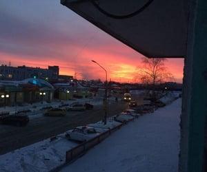 city, holidays, and sky image