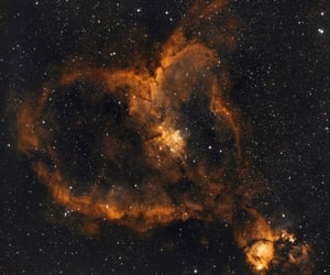 heart, space, and amazing image