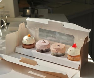 cake, cream, and creamy image