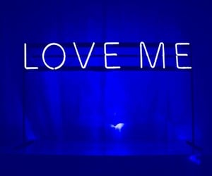 blue and love image