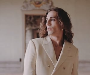glam rock, handsome, and italian image