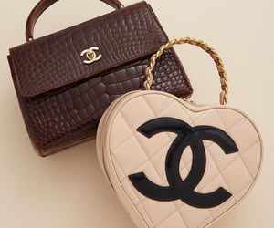 chanel, luxury, and bags image
