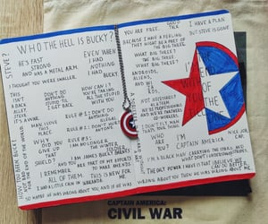 bucky, captain america, and james bucky barnes image