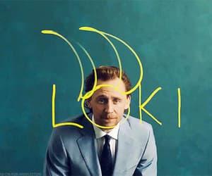 gif, tom hiddleston, and loki image