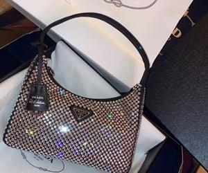 bag, Prada, and crystals image