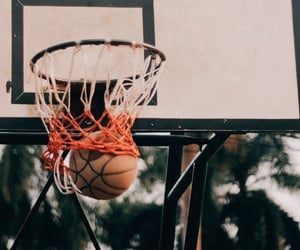 Basketball, wallpaper, and sport image
