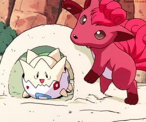 anime, beach, and pokemon image
