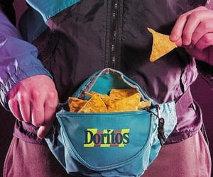 chips, snacks, and 90s image