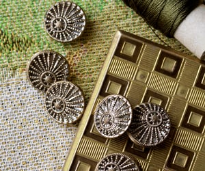 beautiful olf things, art deco, and vintage buttons image