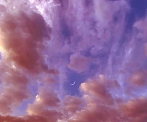 cloud, moon, and photography image
