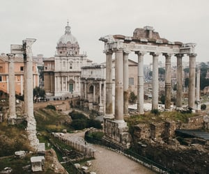 rome, architecture, and travel image