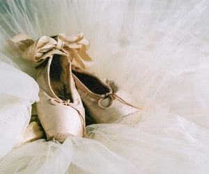 art, ballet, and ballet shoes image