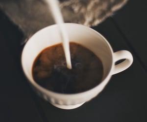 coffee, autumn, and milk image
