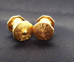 etsy, gift for him, and cuff links for men image