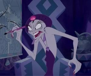 villain, yzma, and walt disney image