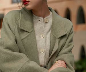 academia, buttons, and cardigan image