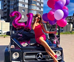 barbie, benz, and birthday image