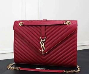 bag, handbags, and burgundy image
