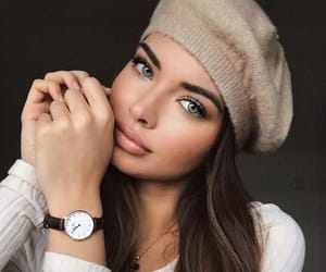 beauty, beret, and clothes image
