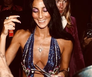 cher, 80s, and fashion image
