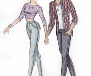 couple, overlays, and louistomlinson image