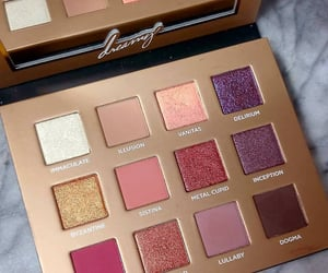 palette, cosmetics, and makeup image