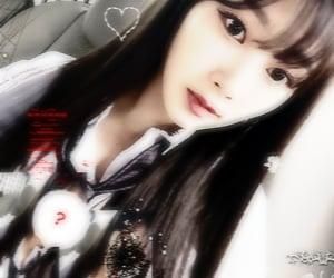 blurry, karina, and winter image
