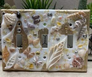 art, beach, and florida image