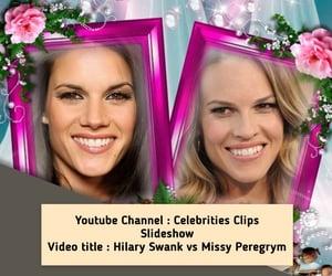 celebrities, lookalike, and women image