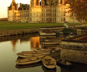 castle, beautiful, and france image