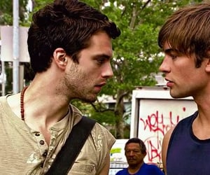 Chace Crawford, nate archibald, and sebastian stan image