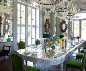 amazing, dining room, and girly image