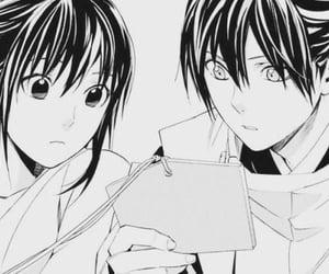 hiyori, yatoxhiyori, and yato image