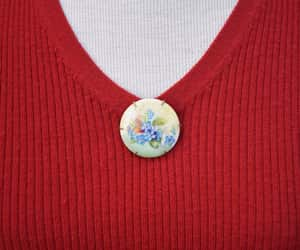 etsy, forget me not, and gift for her image