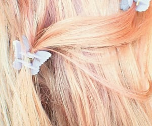 blond, hair, and hair clip image