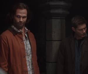 dean winchester, gif, and gag reel image