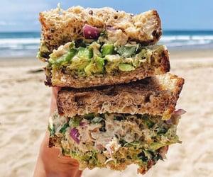 avocado, beach, and beaches image