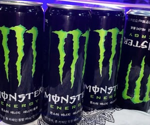 aesthetic, monster energy, and theme image
