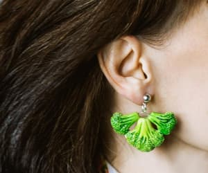 broccoli, etsy, and green image