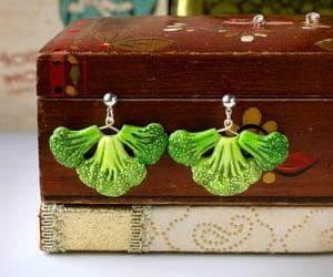 broccoli, food jewelry, and cute image