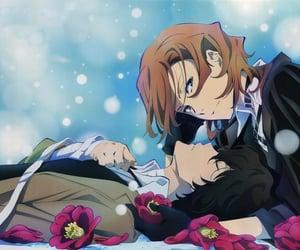 anime, chuuya, and osamu dazai image