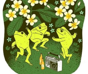 frog, fun, and funny image
