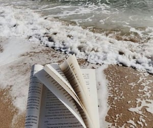 beach, ocean, and verano image