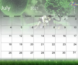 article and cute july 2021 calendar image