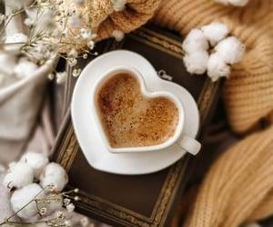 coffee, heart, and fashion image