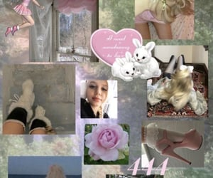 bunny, coquette, and 444 image