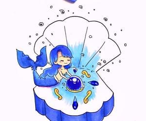 alternative, blue, and kawaii image