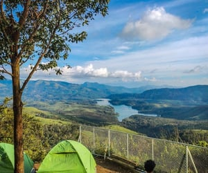camping, travelling, and trip image