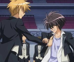 anime, couple, and kaichou wa maid-sama image