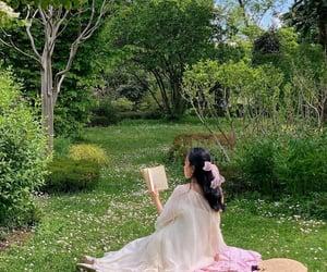 fashion, girl, and picnic image
